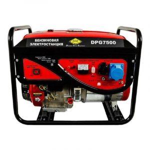 Генератор бензиновый DDE DPG7500