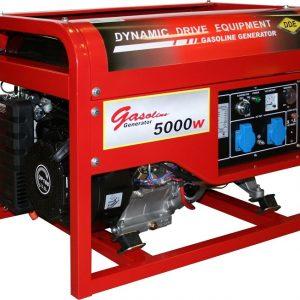 Генератор бензиновый DDE DPG7501E