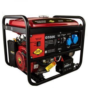 Генератор бензиновый DDE G550E