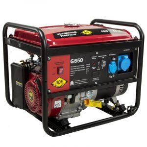 Генератор бензиновый DDE G650