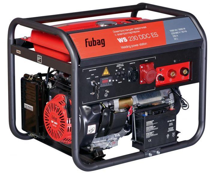 Генератор бензиновый сварочный Fubag WS 230 DDC ES