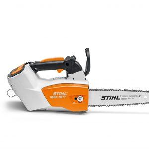 Аккумуляторная пила Stihl MSA 161 T, шина R 25 см, цепь 71 PM3, AP 200, AL 300 1252-200-0055
