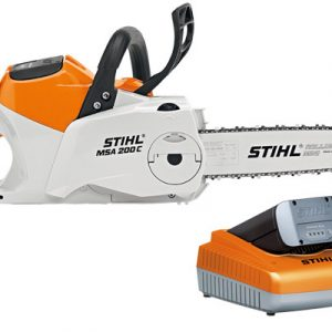 Аккумуляторная пила Stihl MSA 200 C-BQ, шина R 35 см, цепь 71 PM3, AP 300, AL 300 1251-200-0087