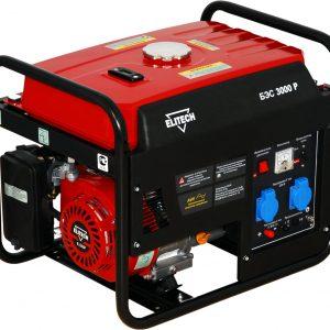 Генератор бензиновый ELITECH БЭС 3000 Р