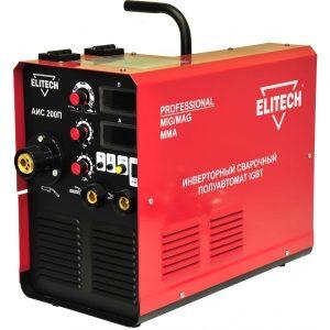 Сварочный полуавтомат инверторный ELITECH АИС 200 П