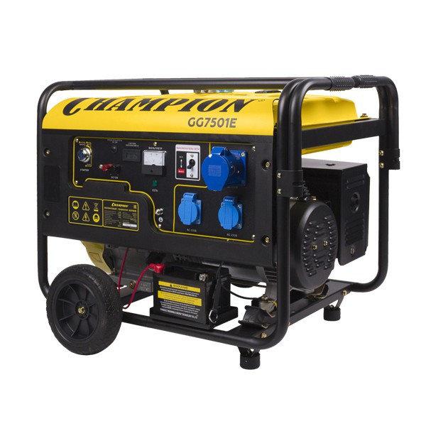 Генератор бензиновый CHAMPION GG 7501 E