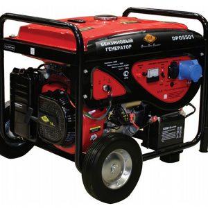 Генератор бензиновый DDE DPG6501