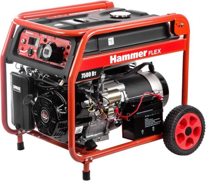 Генератор бензиновый HAMMER GN8000ATS