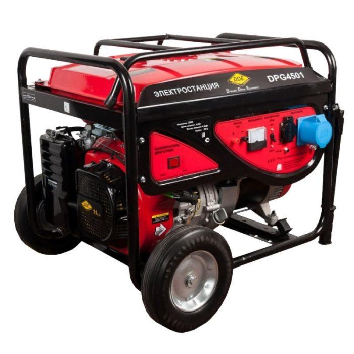 Генератор бензиновый DDE DPG4501
