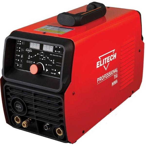 Сварка аргоно-дуговая (TIG) инверторная ELITECH АИС 200 AC/DC Pulse