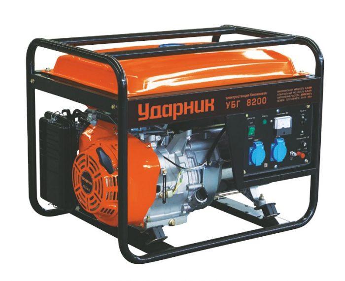 Генератор бензиновый Ударник УБГ 8200