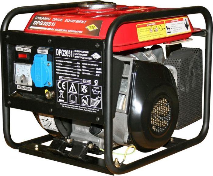 Генератор бензиновый инверторный DDE DPG2051i