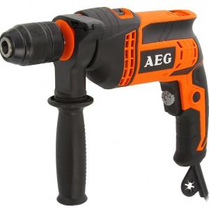 Дрель ударная AEG SBE 650 R kit