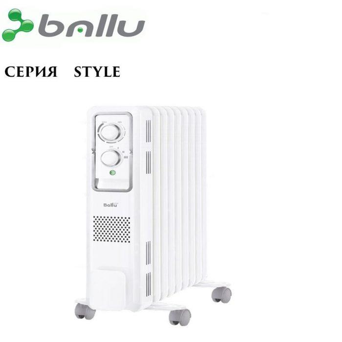 Радиатор масляный Ballu style BOH/ST-05W