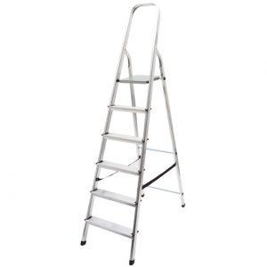 Лестница-стремянка стальная, 3 широкие ступени, Н=105 см, вес 4,7 кг FIT