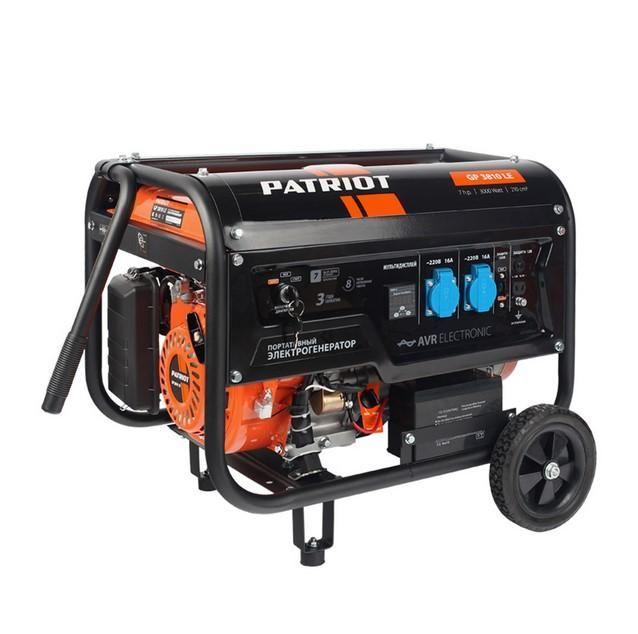 Генератор бензиновый Patriot GP 3810 L