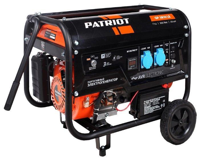 Генератор бензиновый Patriot GP 3810 LE