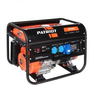 Генератор бензиновый Patriot GP 6510