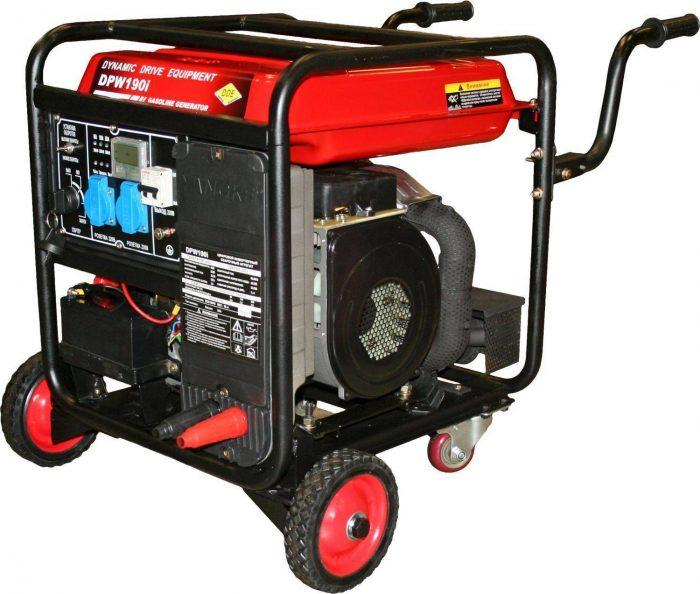 Генератор бензиновый сварочный DDE DPW190i
