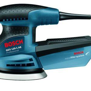 Шлифмашина эксцентриковая Bosch GEX 125-1 AЕ 0.601.387.500