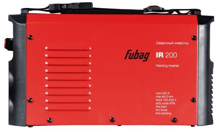 Сварочный аппарат инверторный Fubag IR 200