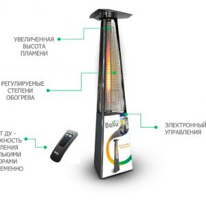 Обогреватель инфракрасный газовый BALLU BOGH-15E