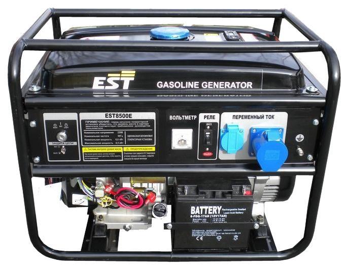 Генератор бензиновый EST 8500 E
