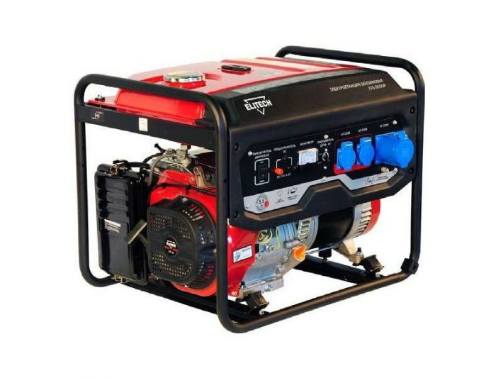 Генератор бензиновый ELITECH СГБ 6500Е
