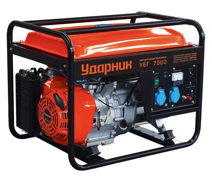 Генератор бензиновый Ударник УБГ 7000