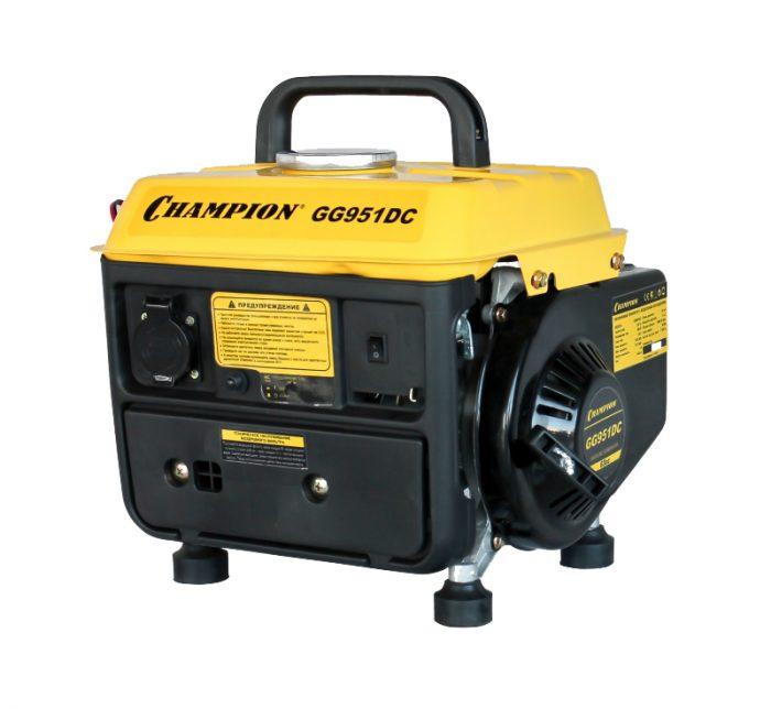 Генератор бензиновый CHAMPION GG 951 DC