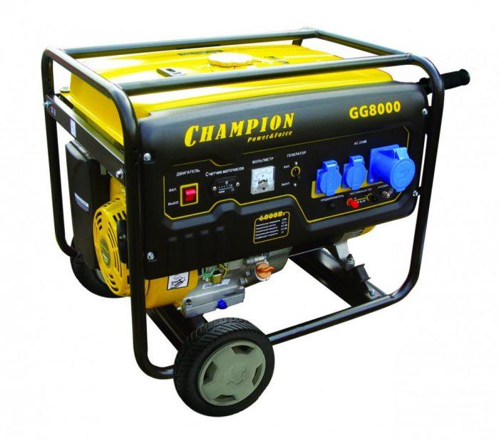 Генератор бензиновый CHAMPION GG8000