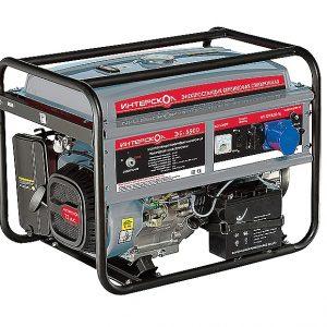 Генератор бензиновый Интерскол ЭБ-5500