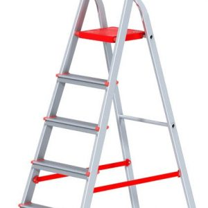 "Лестница ""Алюмет"" 2х6 ступ., алюм., двухсекционная"