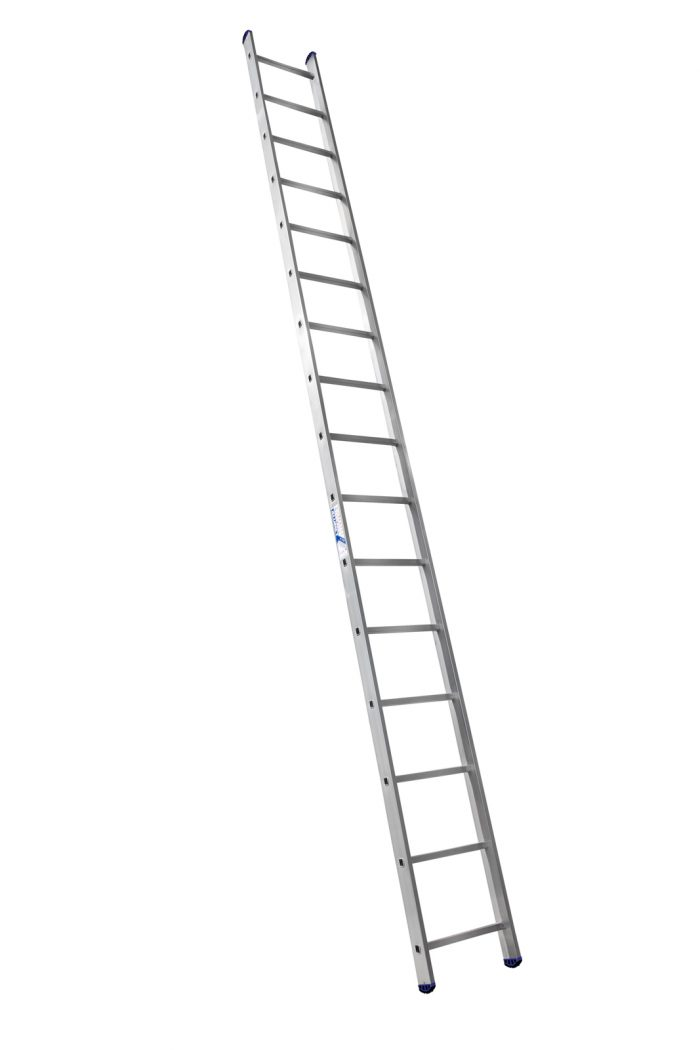 Алюминиевая односекционная лестница Алюмет