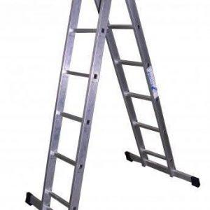 "Лестница ""Алюмет"" 2х 8 ступ., алюм., двухсекционная"